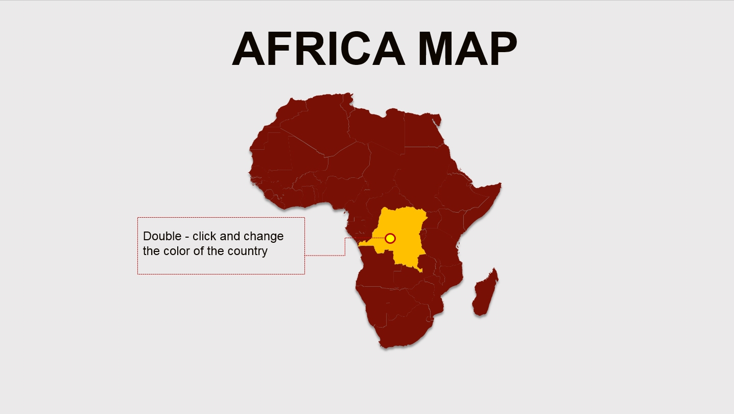 Africa map one slide powerpoint template background for africa map one slide powerpoint template background for presentation free toneelgroepblik Image collections