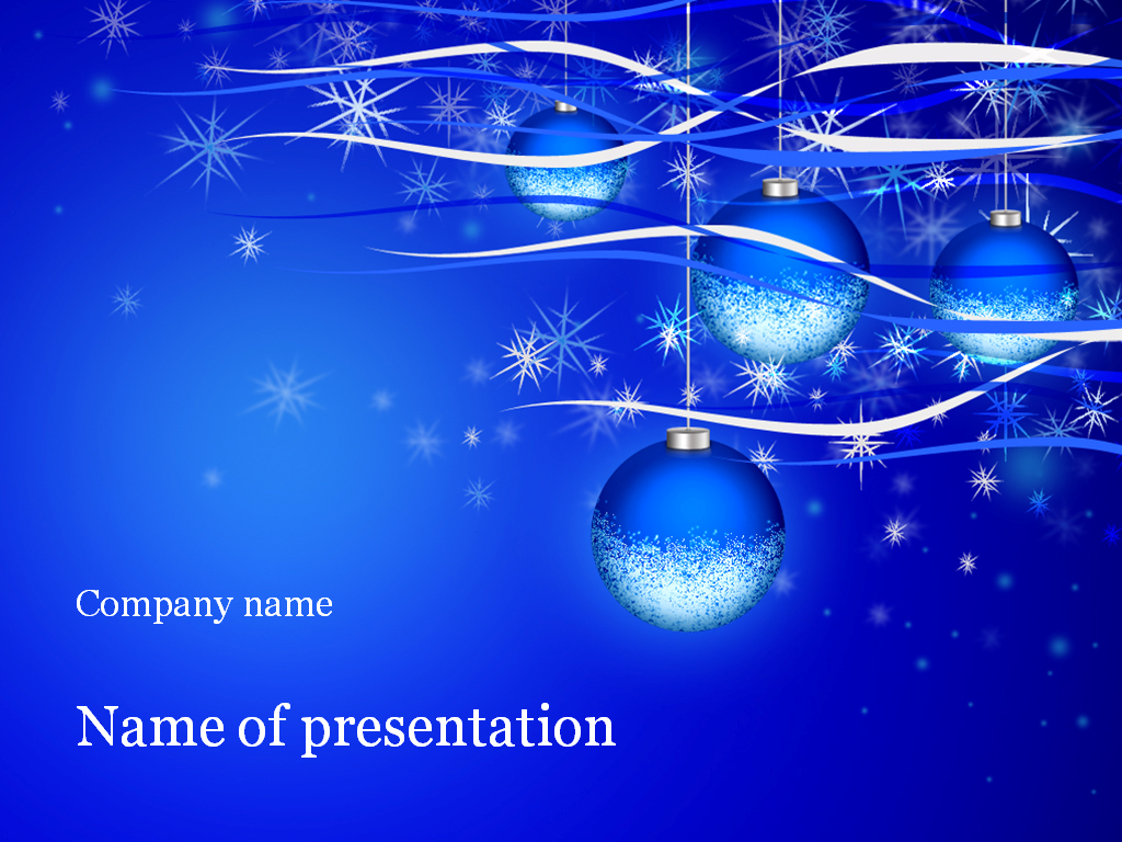 christmas holiday powerpoint template  background for presentation, Templates