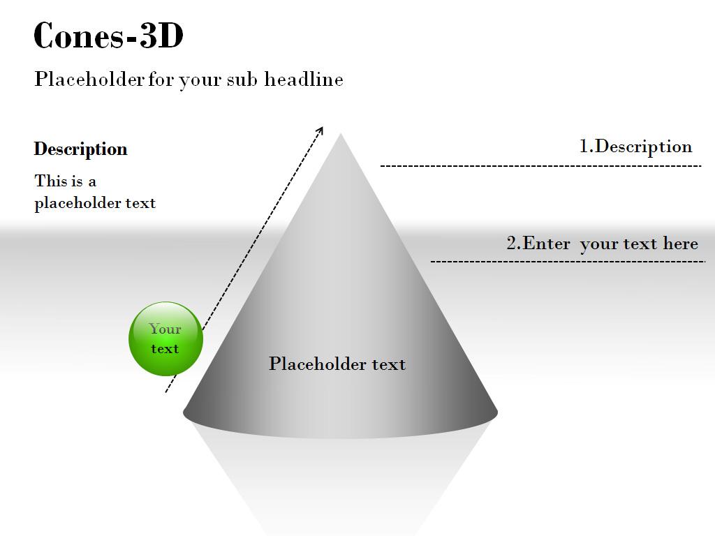 3d Cone Template 62288
