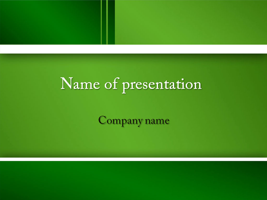 Neutral green powerpoint template background for presentation free toneelgroepblik Gallery