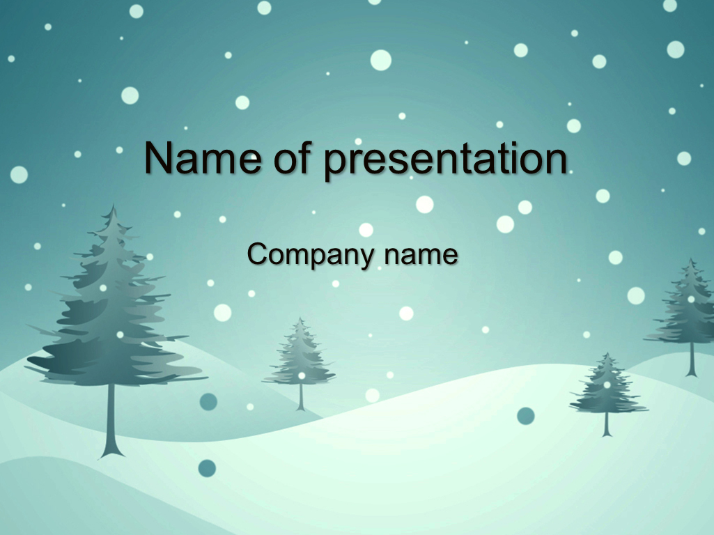 Winter Powerpoint Themes Pablo Penantly Co