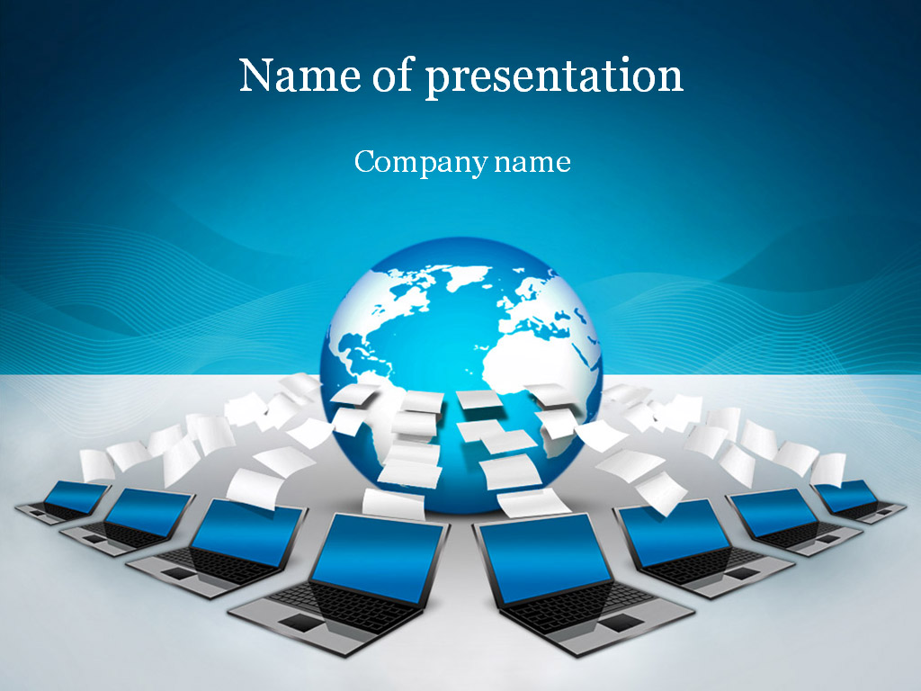 Global connection powerpoint template background for presentation toneelgroepblik Image collections
