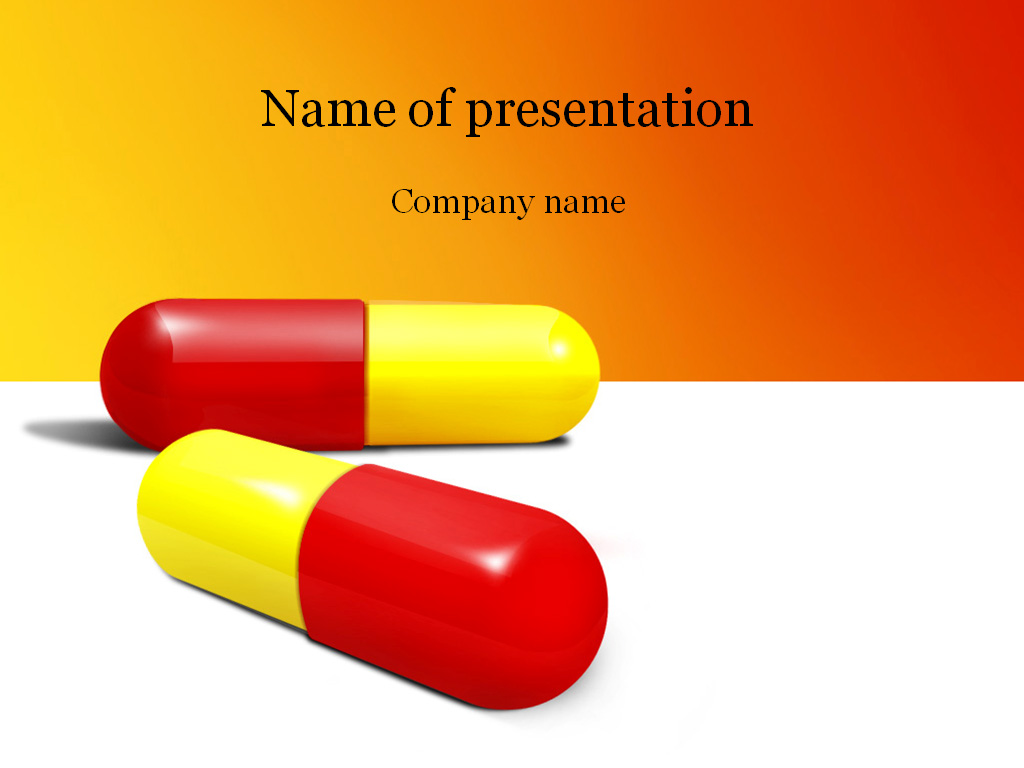 Pills powerpoint template background for presentation toneelgroepblik Choice Image
