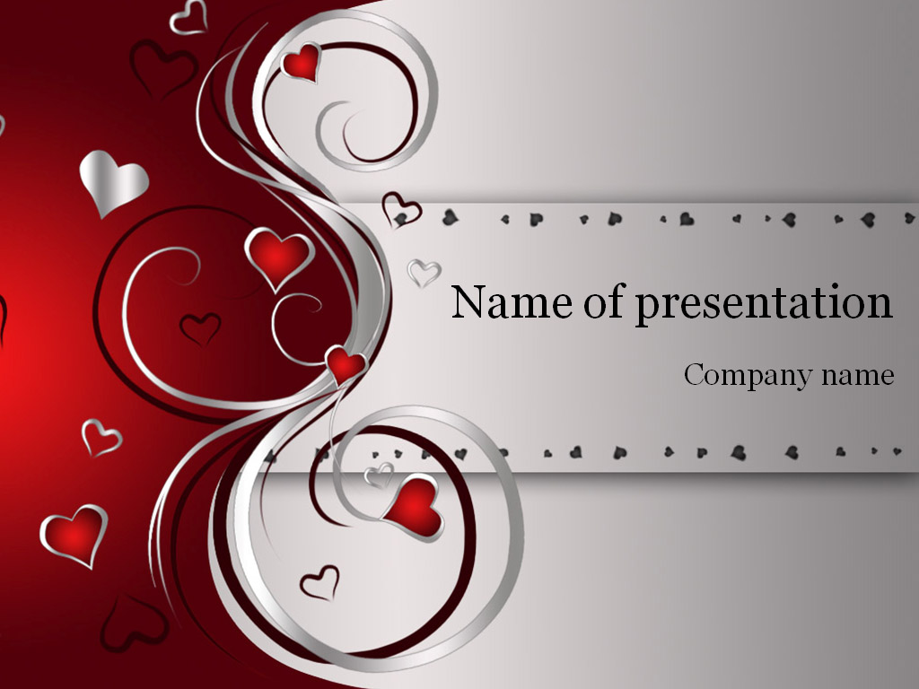 Valentines day powerpoint template background for presentation alramifo Gallery