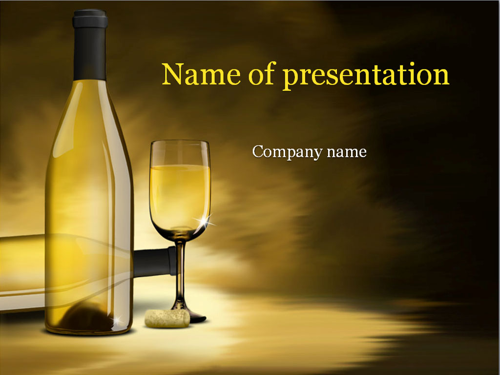 White wine powerpoint template background for presentation toneelgroepblik Image collections