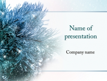 Christmas Season powerpoint template