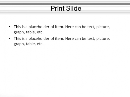 White Columns powerpoint template