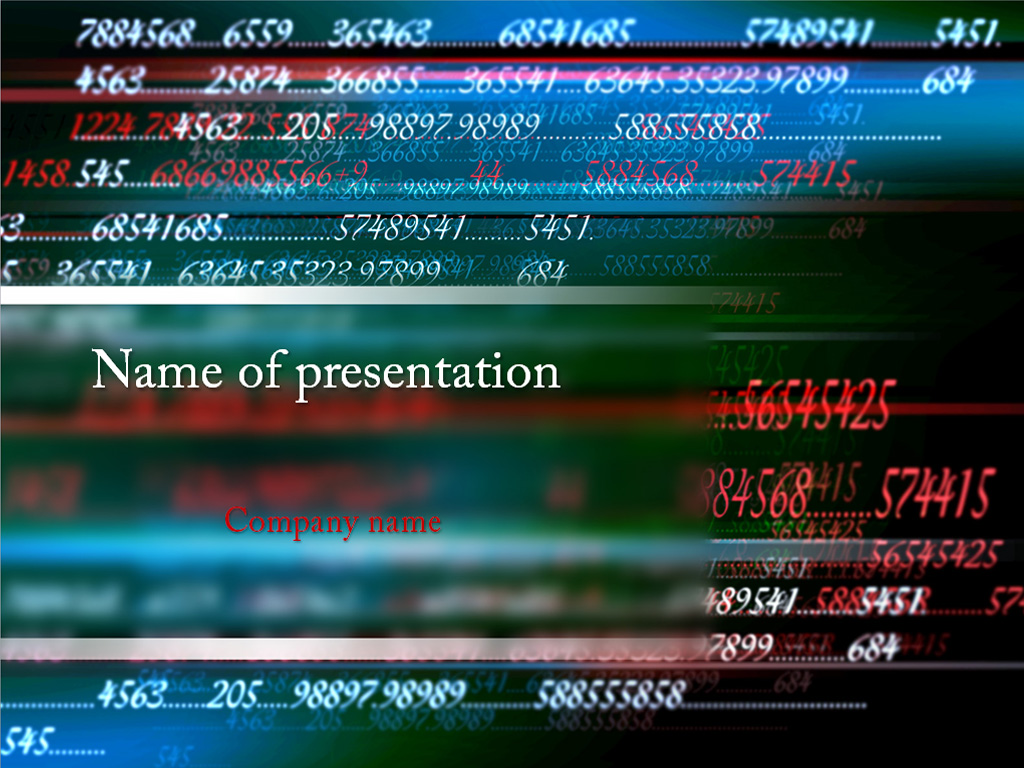 Download Free Mathematics Numbers Powerpoint Template For Presentation My Templates Shop