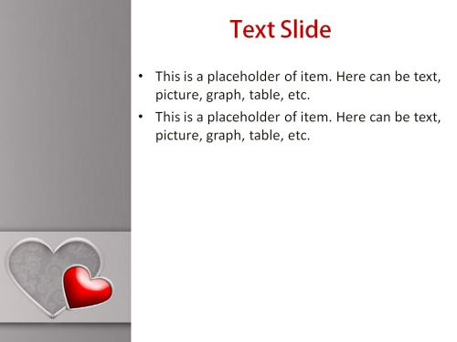 Valentine's Day powerpoint template