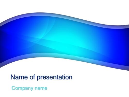 Beautiful Blue powerpoint template