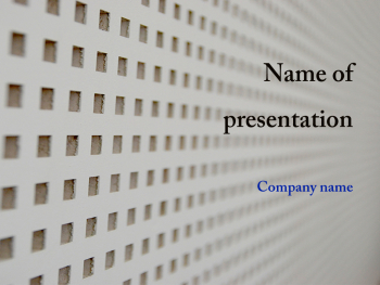 White Abstract  powerpoint template
