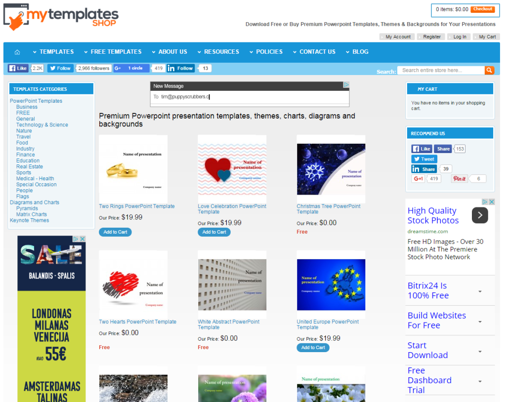 My Templates Shop – Your One Stop Shop for the Best PowerPoint Templates
