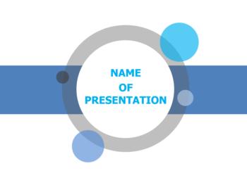 Bar Circle powerpoint template