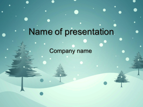 Winter Is Coming powerpoint template