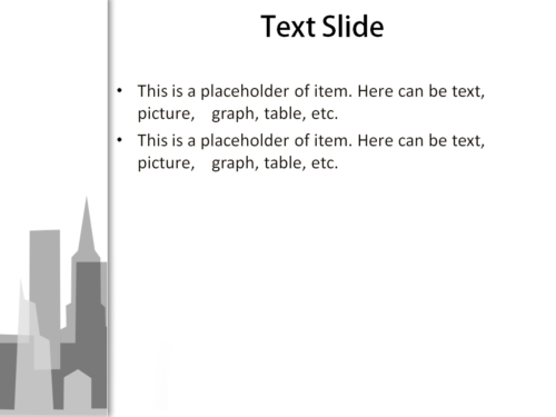 Big City powerpoint template