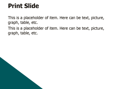 Big Triangles powerpoint template
