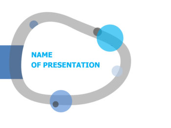 Curved Ring powerpoint template