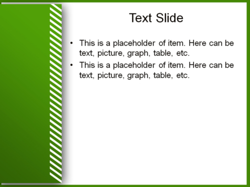 White Stripes powerpoint template
