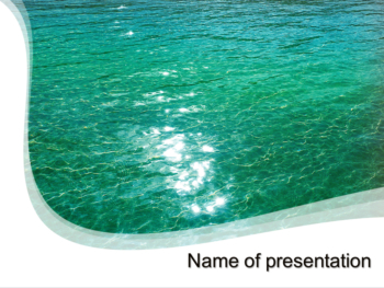 Great Ocean powerpoint template