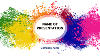 Happy Colors powerpoint template