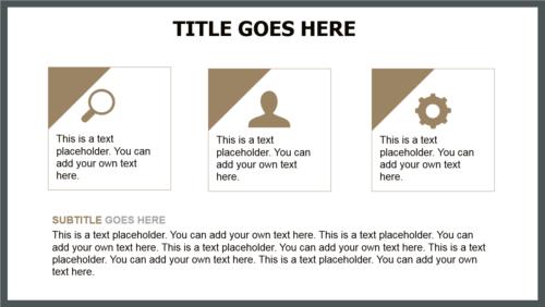 Destination PowerPoint template