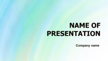 Warm Sky PowerPoint template