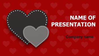 Soul In Love PowerPoint template
