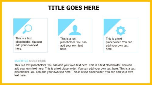 Sunny Yellow PowerPoint template