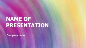 Sweetly Purple Mood PowerPoint template