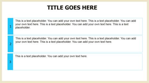 Vacation Beach PowerPoint template