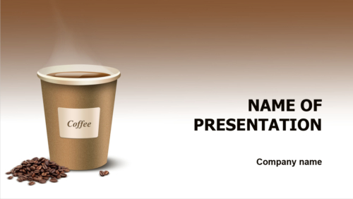 Coffee Business PowerPoint theme