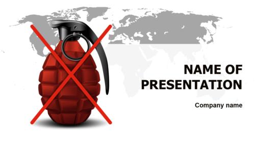 Crisis PowerPoint theme