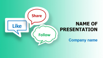 Follow Me PowerPoint template