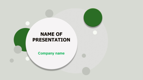 Rounds PowerPoint template