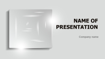 Shiny Quadrate PowerPoint theme