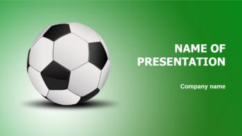 Soccer PowerPoint theme