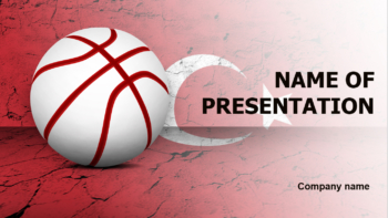 Turkey Basketball Players PowerPoint theme