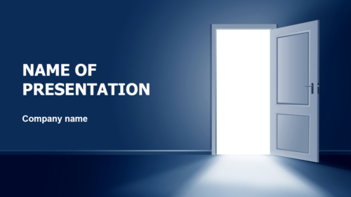 Door To Get Out PowerPoint theme