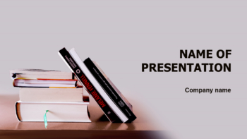 Literature PowerPoint theme