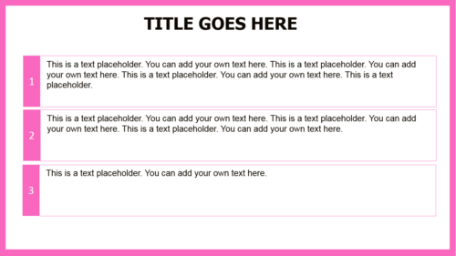 Pink Cancer Ribbon PowerPoint theme
