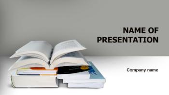 Read Books PowerPoint theme