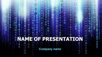 Informatics PowerPoint theme
