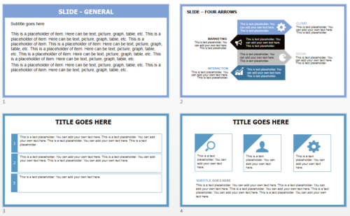 Helicopter PowerPoint theme