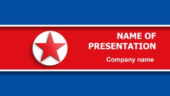 North Korea PowerPoint theme