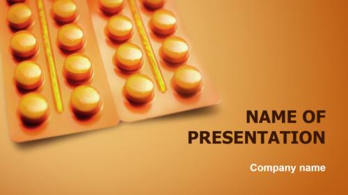 Orange Globules PowerPoint theme