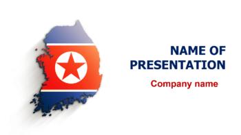 South Korea PowerPoint theme