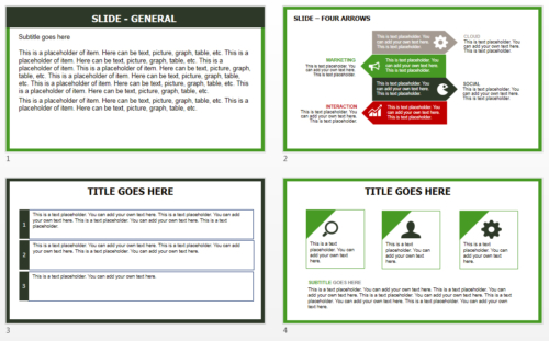 Saudi Arabia Map PowerPoint theme