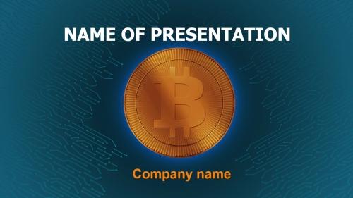 Sell Bitcoin PowerPoint theme