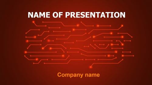 Informatics PowerPoint theme