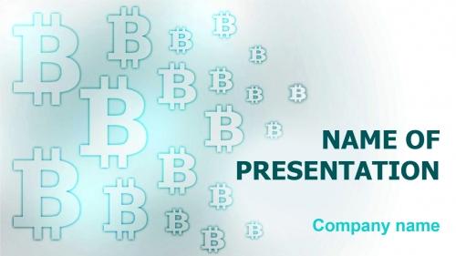 Bitcoin Code PowerPoint theme